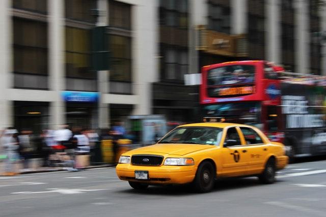 bus en taxi